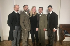 With cast of Vienna Blood
